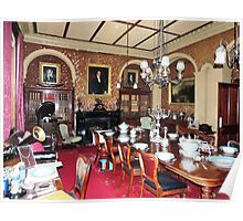 Woolmers Dining Room, Tasmania - A World Heritage Listed Site Poster