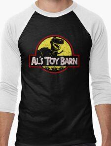 Plastic Park Men's Baseball ¾ T-Shirt