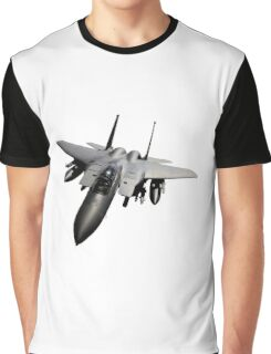 F-15 Jet Fighter Graphic T-Shirt