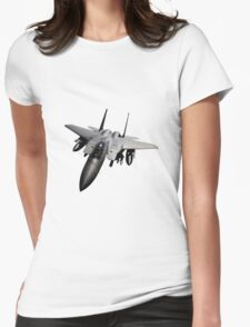 F-15 Jet Fighter Womens Fitted T-Shirt