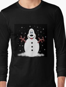 Snoooowman Long Sleeve T-Shirt