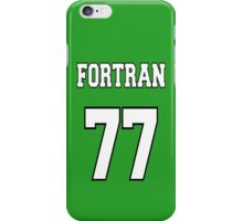 FORTRAN 77 - White on Green Design for Fortran Programmers iPhone Case/Skin