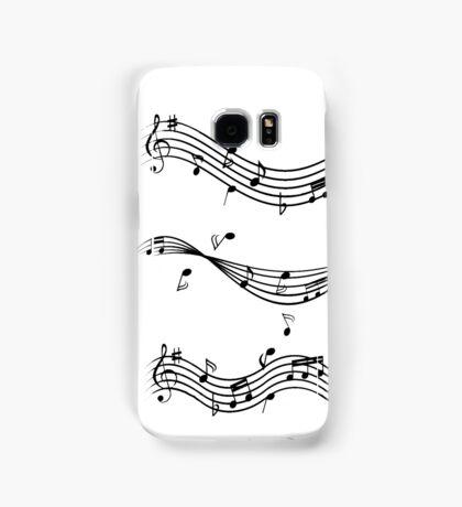 Music staff Samsung Galaxy Case/Skin