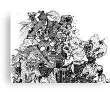 Young & Mental Canvas Print