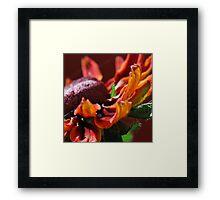 Flower's Edge Framed Print