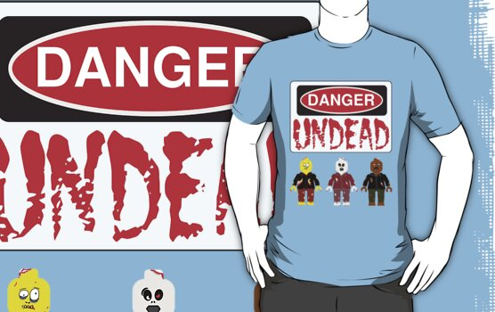 DANGER UNDEAD by Customize My Minifig by ChilleeW