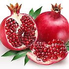 Yummy Pomegranates by nidredbubble012