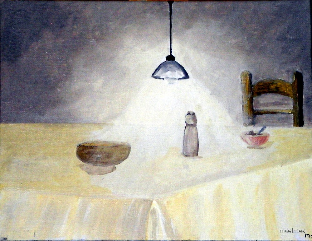 Lonely Table by mselmes
