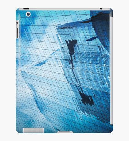 city in the mirror iPad Case/Skin