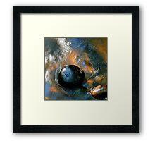 Stone in the Stream Framed Print