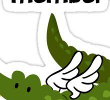 Swamp Family! Sticker