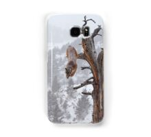 Cougar leaping off tree Samsung Galaxy Case/Skin