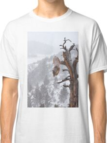 Cougar leaping off tree Classic T-Shirt