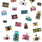 vintage camera pattern by naphotos