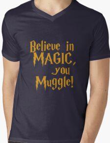 Magic Exists Mens V-Neck T-Shirt