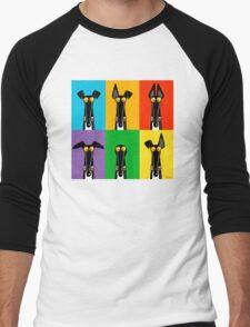 Greyhound Semaphore Men's Baseball ¾ T-Shirt