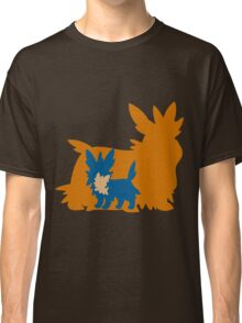 PKMN Silhouette - Lillipup Family Classic T-Shirt