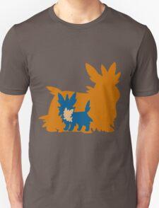 PKMN Silhouette - Lillipup Family Unisex T-Shirt