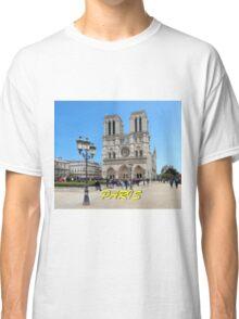 Stunning! Notre Dame Paris Classic T-Shirt