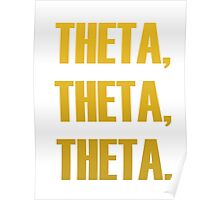 Theta The Team Maize Poster
