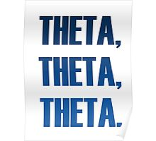 Theta The Team Blue Poster