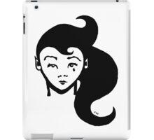 Lady Sorrow : T-shirt illustration / design - inspired by stencil / street art. iPad Case/Skin