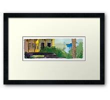 Elizabeth Bay House Framed Print