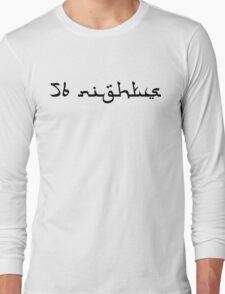 56 Nights Black Long Sleeve T-Shirt