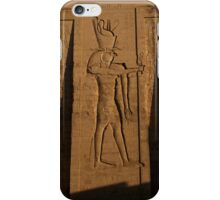 The Egyptian God, Horus iPhone Case/Skin