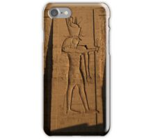 The Egyptian God, Horus iPhone Case/Skin