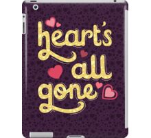 Heart's All Gone iPad Case/Skin