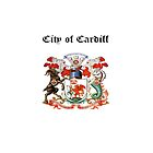 City of Cardiff iPad Case by Catherine Hamilton-Veal  ©