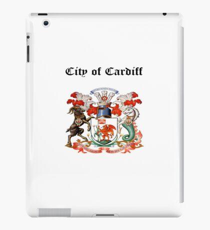 City of Cardiff iPad Case iPad Case/Skin