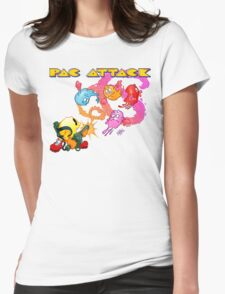 Pac Attack 2.0 Womens Fitted T-Shirt