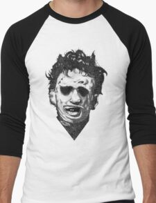 Leatherface Men's Baseball ¾ T-Shirt