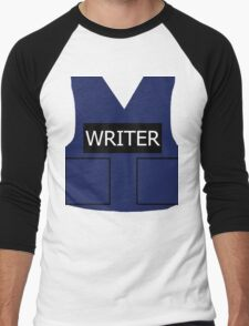 Writer's Vest Men's Baseball ¾ T-Shirt