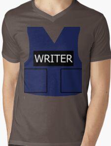 Writer's Vest Mens V-Neck T-Shirt