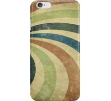 grunge ray iPhone Case/Skin