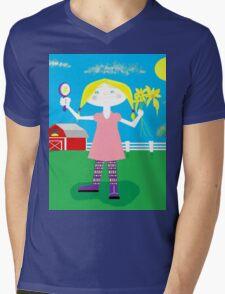 Maggie Ann Mens V-Neck T-Shirt