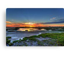 Rio Formosa Sunset Canvas Print