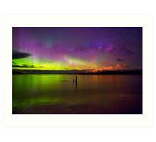 Randalls Bay Aurora Tasmania #6 Art Print