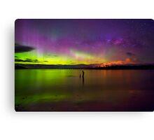 Randalls Bay Aurora Tasmania #6 Canvas Print