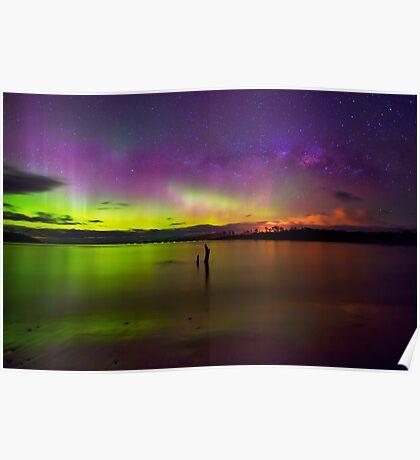 Randalls Bay Aurora Tasmania #6 Poster
