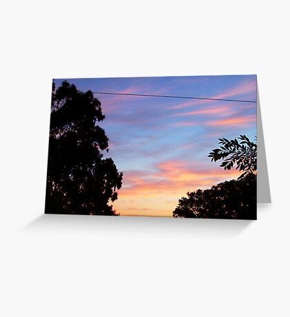 Dawn Two - 24 10 12 Greeting Card