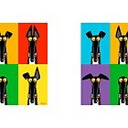 Greyhound Semaphore mug by RichSkipworth