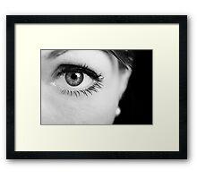 Dark Eye Framed Print