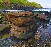 Rock Stack. by Bette Devine