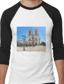 Stunning! Notre Dame France Men's Baseball ¾ T-Shirt