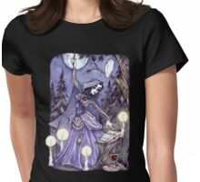 Drawing Down the Moon Womens Fitted T-Shirt