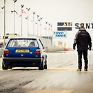 Golf quarter mile by Justin Minns